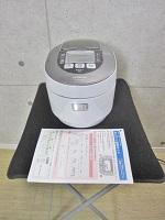 小平市にて 日立製 炊飯器 圧力&スチーム 真空熱封 5.5合 IHジャー炊飯器 [RZ-W2000K] 2013年製 を店頭買取致しました