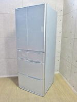 相模原市にて 日立 真空チルド 517L 6ドア冷凍冷蔵庫 R-G5200D(XS) 2014年製 を出張買取致しました