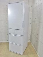 新宿区にて シャープ 424L 両開き 5ドア冷凍冷蔵庫 SJ-PW42Y 2014年製 を出張買取致しました