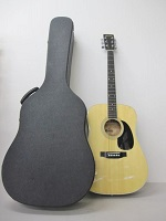 世田谷区にて Morris モーリス W-20 アコースティックギター ハードケース付き を店頭買取致しました