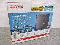 世田谷区にて BUFFALO LS220D0602C 6TB リンクステーション ネットワーク対応HDD RAID1搭載 を出張買取致しました