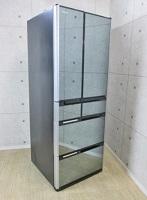 品川区にて 日立 真空チルドFS 565L 6ドア冷凍冷蔵庫 R-M5700D 2014年製 クリスタルミラー を出張買取致しました