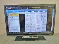 国立市にて SHARP AQUOS 32型液晶テレビ LC-32H9 2013年製 を出張買取致しました