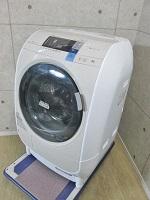 青梅市にて 日立 9kg ドラム式洗濯乾燥機 BD-V3600L 2013年製 を出張買取致しました