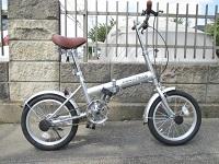 八王子_店頭買取_AEROBIKE 折りたたみ自転車 エアロ16型