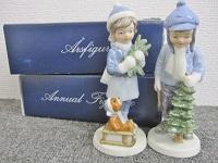 大田区にて ロイヤルコペンハーゲン 陶器人形 を買取致しました