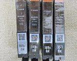 キャノン 純正インク BCI-351XL 4個