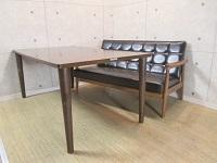 カリモク60+ ダイニングテーブル1500 Kチェア スタンダードブラック