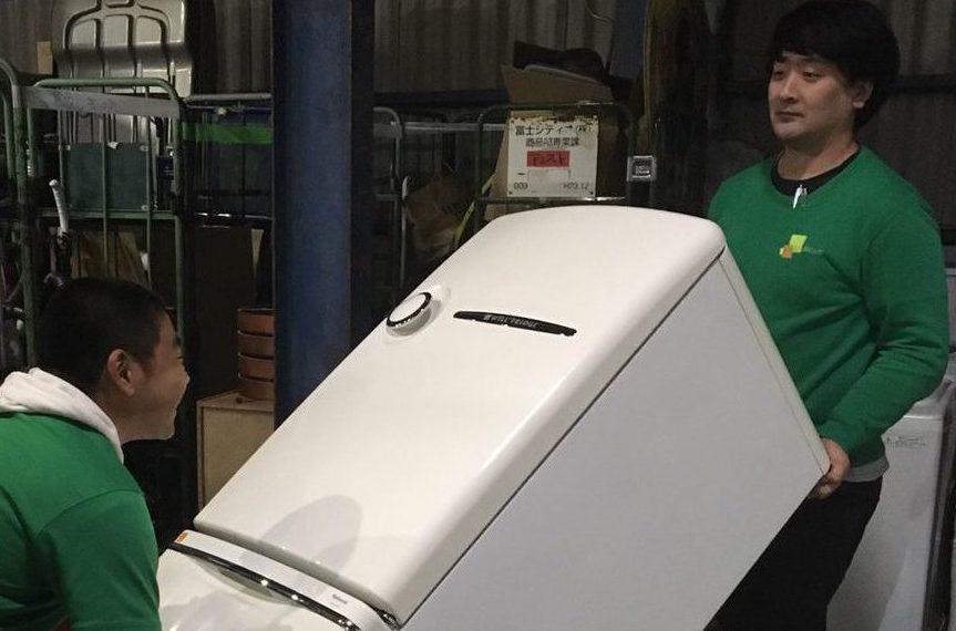 レトロで人気の冷蔵庫!ナショナルのWiLL FRIDGEを引き取りしました!