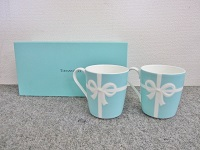 quality design 26253 2598d 国立市にて ティファニー ブルーボックスマグカップを買取ました ...