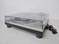 テクニクス ターンテーブル SL-1200MK5 シルバー DJ KRUSH