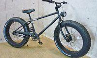 BRONX ファットバイク 自転車 24インチ レインボー