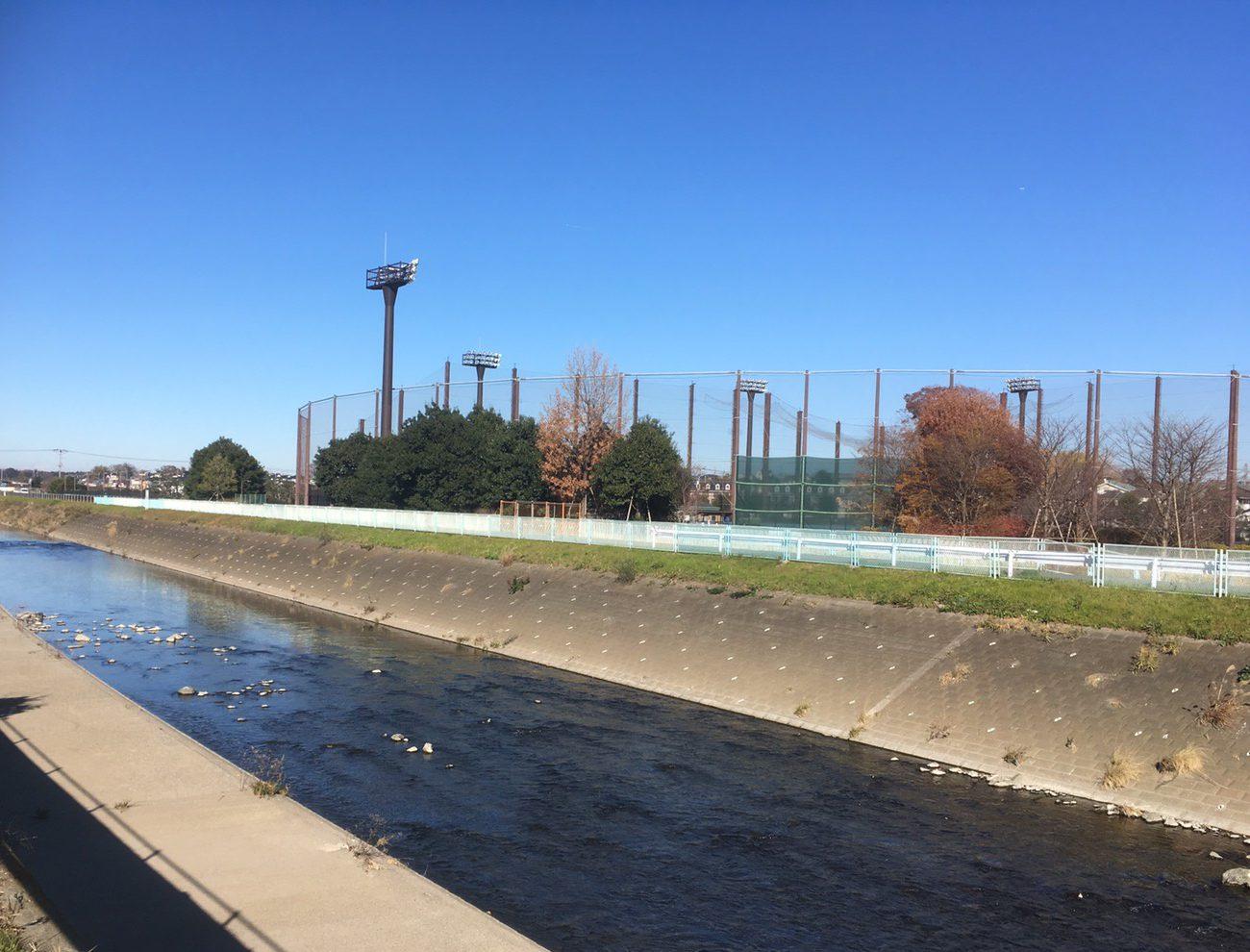 境川サイクリングコースで週末マラソン
