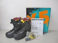 X5 CROSS FIVE スノーボードブーツ BLACK 27cm