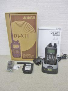 ALINCO ハンディレシーバー DJ-X11 広帯域受信機