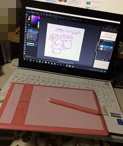 NEC ノートPC Wacom ペンタブレット