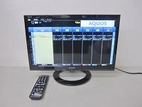 SHARP アクオス 19型液晶テレビ LC-19K40
