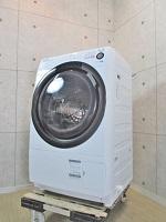 SHARP ドラム式洗濯乾燥機 ES-S60-WL
