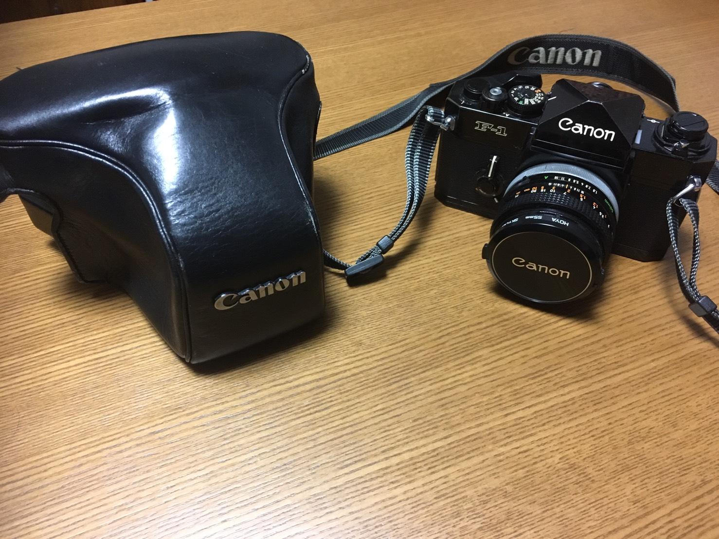 キャノン F1 一眼レフカメラ