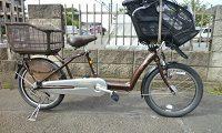 ブリジストン アンジェリーノ 子供乗せ自転車 AG20-3