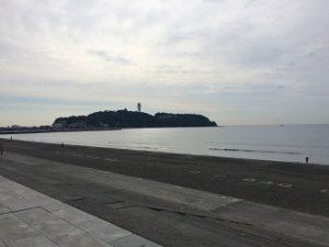江之島 沿岸 砂浜