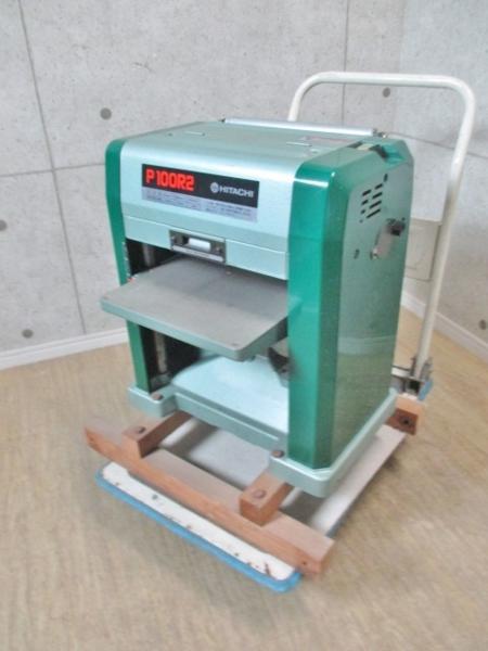 日立 電動カンナ盤