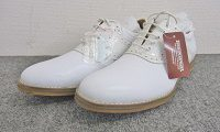 バッキート BUCKWEAT ゴルフシューズ 25.5cm ホワイト