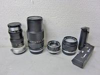 カメラレンズ まとめ NIKKOR-Q 13.5 OLYMPUS 14 f=75-150mm