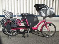 パナソニック ギュット ミニ 二人乗せ 電動アシスト自転車 BE-ENMM033M