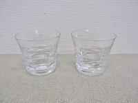 バカラ ロックグラス ローラ ペア クリスタルガラス 2012刻印