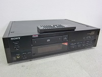 SONY CDプレーヤー CDP-X555ES