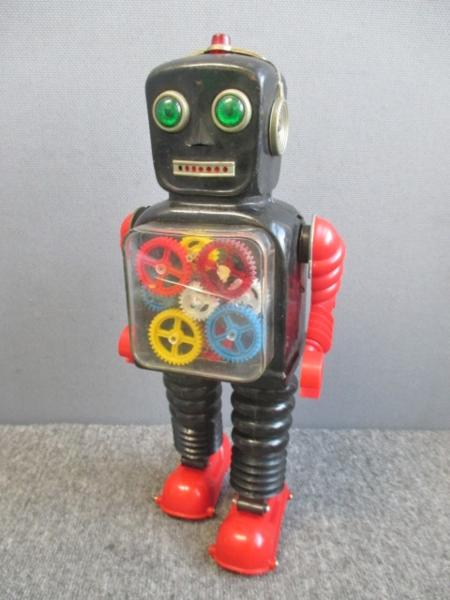 TAIYO ブリキ ギアロボット 2足歩行