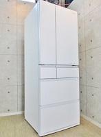 パナソニック 冷凍冷蔵庫 NR-F553HPX-W