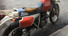 バイク HONDA XLR250