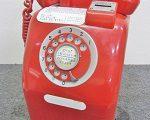電話銀行 赤電話貯金箱 公衆電話