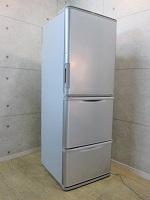 シャープ 冷凍冷蔵庫 SJ-WA35B-S