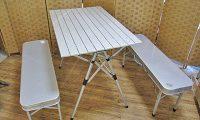 コールマン coleman アルミ製 ピクニック テーブル ベンチセット モデル170-5652