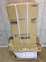 LIXIL ベーシア シャワートイレ タンク 便器セット フチレス DT-BA283G BC-BA20S