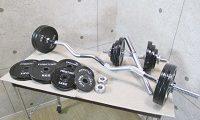 ファイティングロード バーベル&ダンベルプレートSET 合計55kg