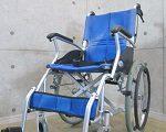 ケアテックジャパン 軽量 自走介助兼用 折りたたみ式 車椅子