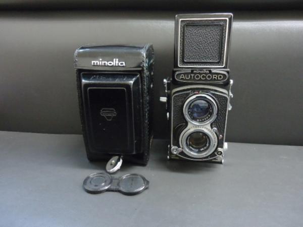ミノルタ オートコード 二眼レフカメラ