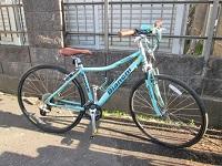 横浜市にて ビアンキ ドルチェ クロスバイク を買取ました