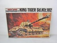 キングタイガー Sd.Kfz.182 ラジコン 124スケール ドイツ重戦車 プラモデル