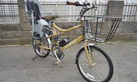 ルイガノ 電動アシスト自転車 子供乗せ付き ミニベロ AL6061