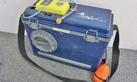 ダイワ 友カン 釣り用品 クーラーボックス エアーポンプ付き JETAIR214
