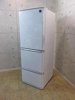 シャープ 冷凍冷蔵庫 SJ-PW35W-S