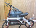 ルノー ウルトラライト7 折り畳み自転車 収納袋付き AL-FDB140