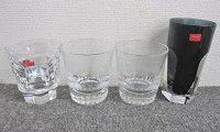 バカラ ロックグラス等 4点セット クリスタルガラス
