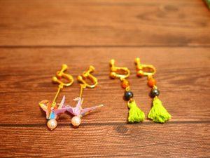 手作りイヤリング