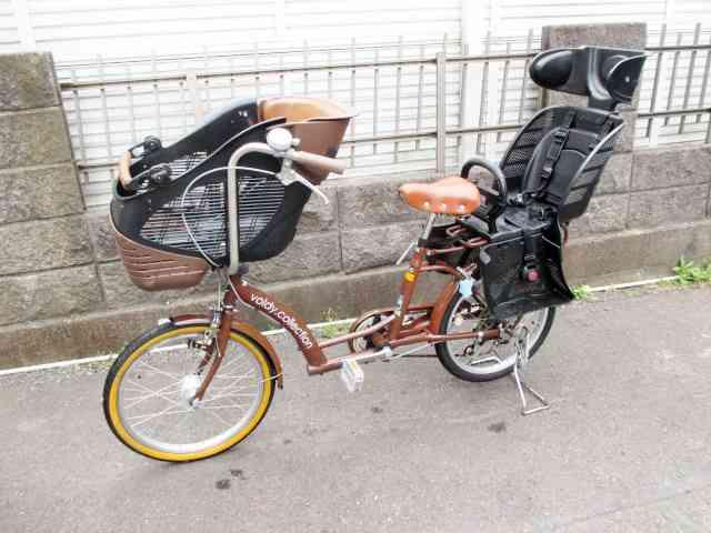 足立区にてvoldy collection 20インチ 子供乗せ 自転車を出張買取しました